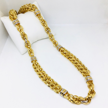 BRANDED FANCY GOLD CHAIN by