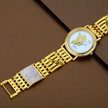 Mens 916 Gold Watch-MW01