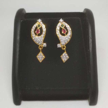 22 K Gold Fancy Earring. NJ-E0921