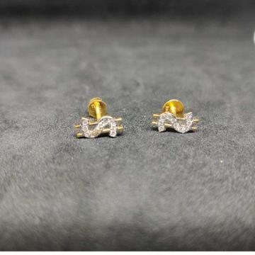22k Gents Earring