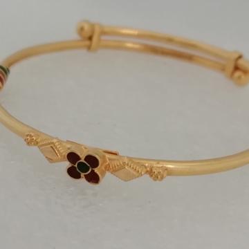 916 gold flower design beby kadali by Vinayak Gold