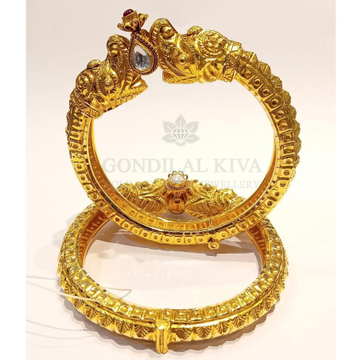 20kt gold bangle gbg42 by