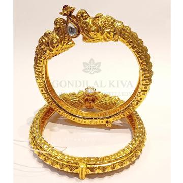 20kt gold bangle gbg42
