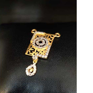 916 Ladies Fancy Gold M S Pendant M-32009