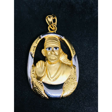 916 exclusive sai baba emerald pendant h-46503