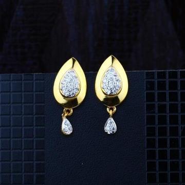916 Gold CZ Earring RH-ER083