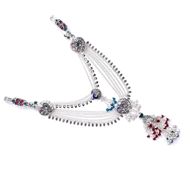 Two clips belly chain silver juda mga - jus0064