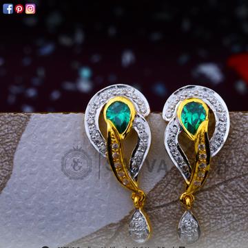 916 gold earrings sge-0040