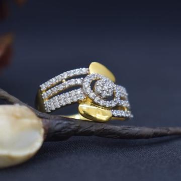 22K Gold Stylish Ladies Ring MK-R13 by