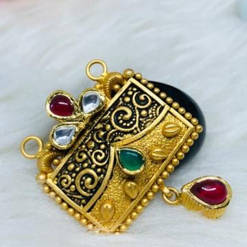 916 Gold Jadtar Mangalsutra Pendants msp-0020