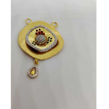 916 Ladies Gold Fancy M S Pendant M-35005