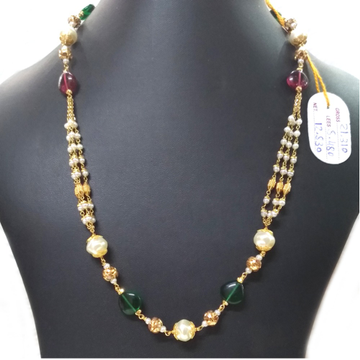 22KT Gold Fancy Ladies Chain Mala
