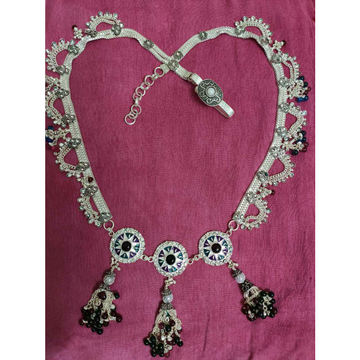 Sadak Dabal Box Chain Mina Dimond Casting Jula Jalar Pearl(Moti) Heavy Weight Adjustable Ladies Kandori Belt Ms-2570