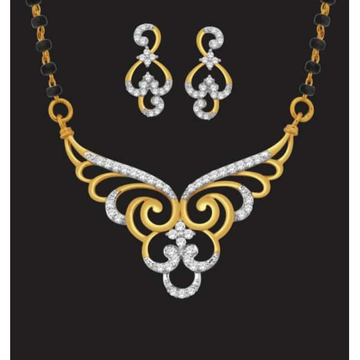 916 gold stylish mangalsutra jj-m11