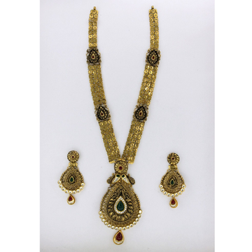 RAJWAJI ANTIQUE NECKLACE SET ST0081