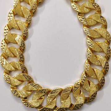 916 Gold Gent's Singapury Chain