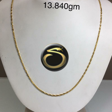 916 Gold Handmade chain SC-ND6030