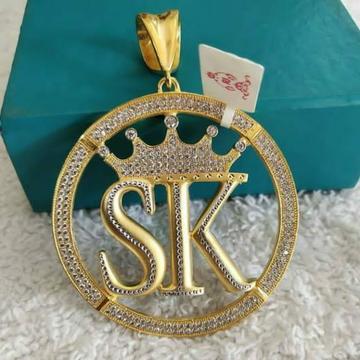 22 carat 916 diamond name pendle by Parshwa Jewellers
