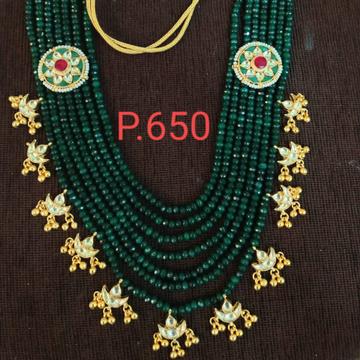 Bridal long necklace set#238