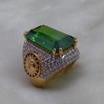 916 Gold Fancy Gent's Ring