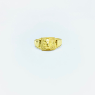BRANDED FANCY LION RING by