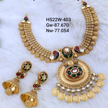 antique jadter gold set 916 by