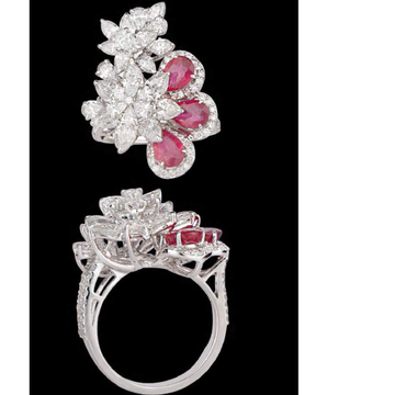 Diamonds and Ruby RingJSJ0102