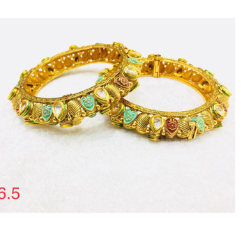916 gold colourfull latest Desgin Patala