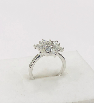 925 sterling silver flower Ring for women
