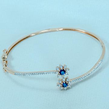 Gold blue stone bracelet  lb1-494 by