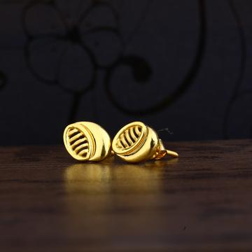 Ladies 916 Gold Delicate Fancy Earring -LPE107