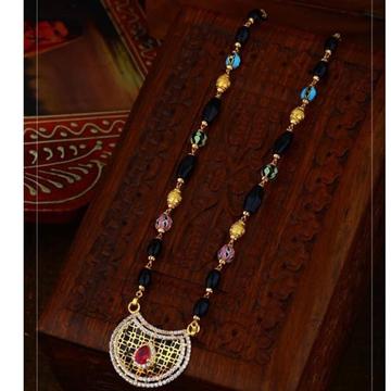 916 Gold antic Rajasthani Mangalsutra RH-GM21