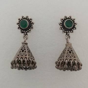 Sterling silver jummar style earrings by Vinayak Gold