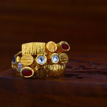 916 gold antique ring lar66