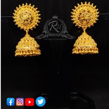 22 carat gold manufacturer of jumar earrings RH-ER126