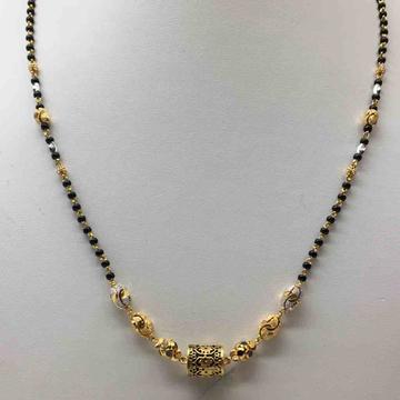 916 Antique single line Mangalsutra Dokiya