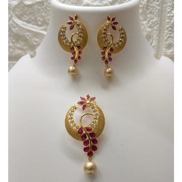 18k gold colorful designer Set by