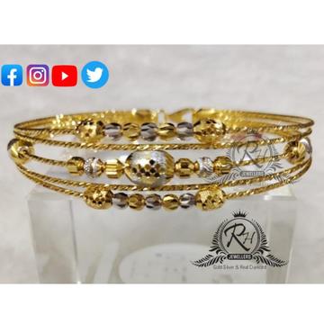 22 carat gold traditional ladies kada RH-KD287