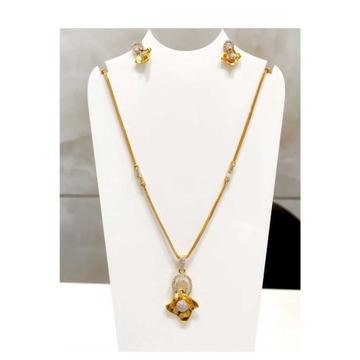 22 K Gold Pendant Set. NJ-P0760