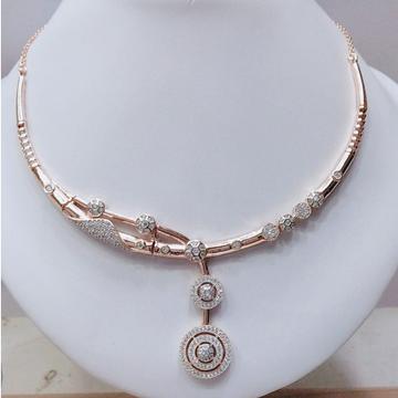 18KT Rose Gold Plated Designer Necklace VJ-N007  by
