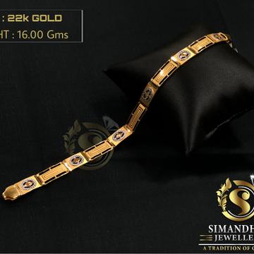 22kt gold sukkhi elegant bracelet by Simandhar Jewellers