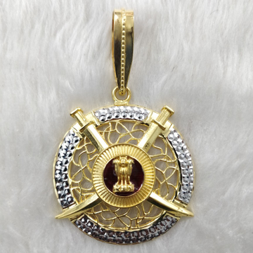 Gold Antique Pendant