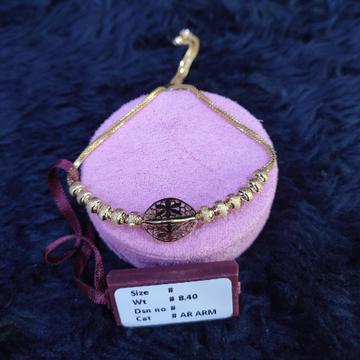 22KT/916 Yellow Gold Fancy Riya Bracelet