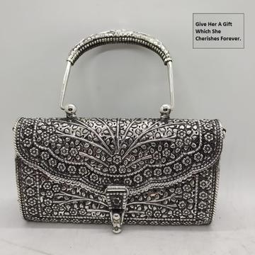Mesmerizing real silver Heirloom purse bag in Fine...
