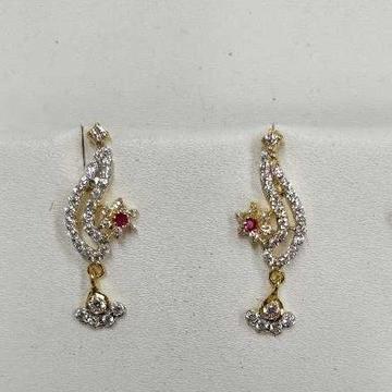 916 Designer Gold Earrings