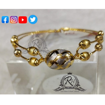 22 carat gold traditional ladies kada RH-KD278