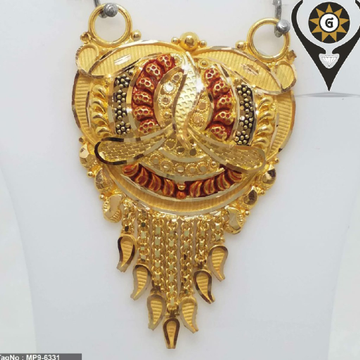 22KT Gold Mangalsutra Pendant by