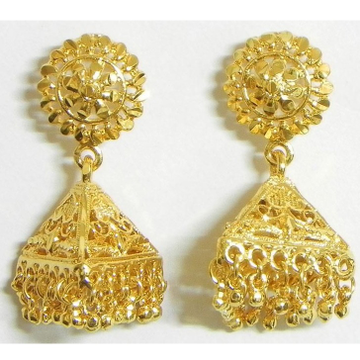 22 Kt 916 Gold Earring With Zummer by