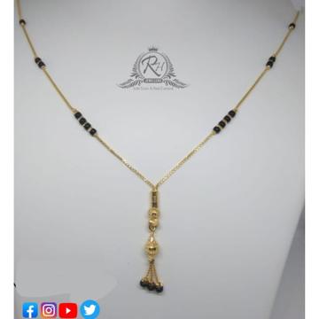 22 carat gold classical ladies mangalsutra RH-MN591