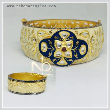 916 Gold Bikaneri Kada NB - 438